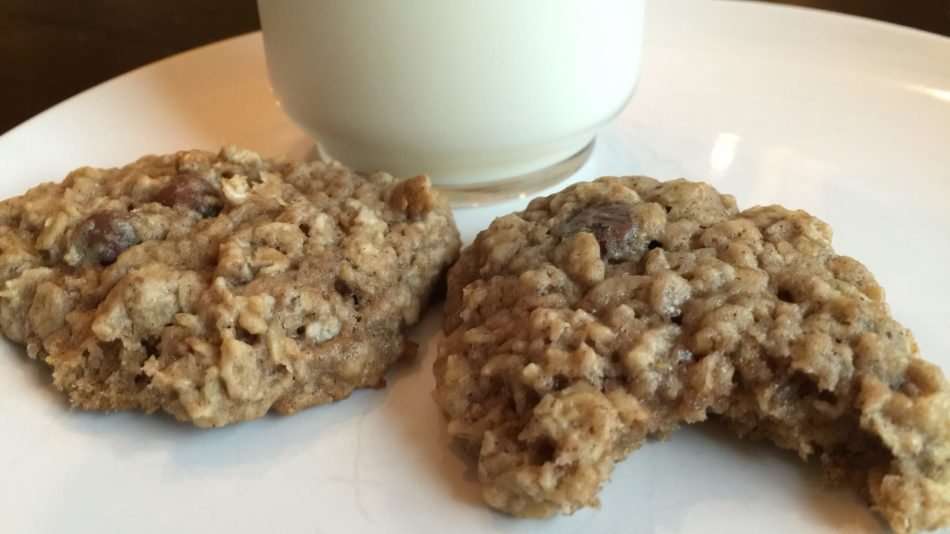 No Oatmeal Chocolate Chip Cookies For You!