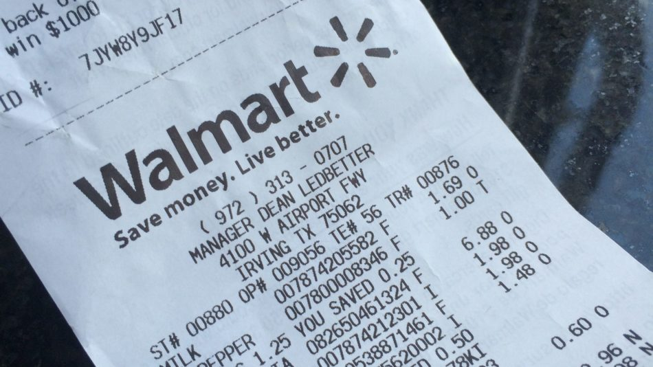 Try Walmart's Grocery Pick Up Service Now!
